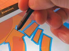 zeichnen mit dem S Pen auf dem Galaxy Note Pro