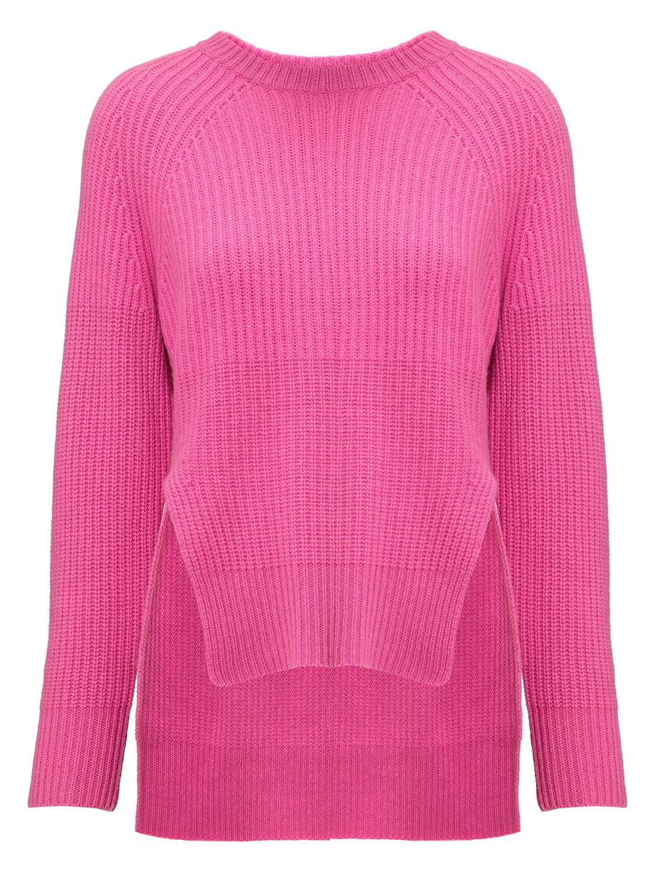 whistles kristen pink cashmere knit