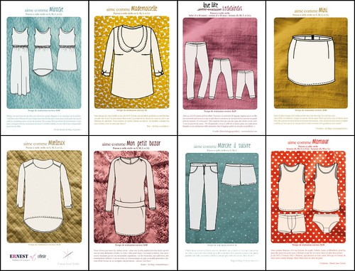 aime comme marie patterns