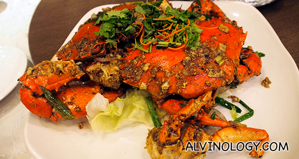Pepper crabs