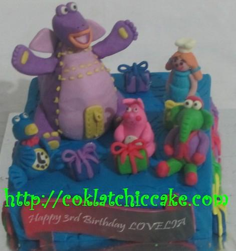 Kue ulang tahun Dibo