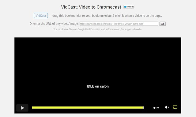 Chromecast VidCast