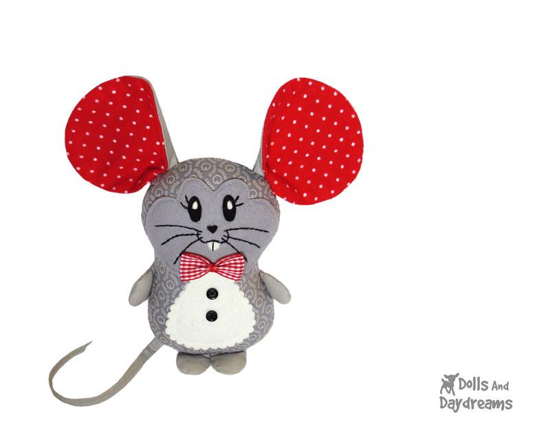 Mr Rat PDF Sewing Pattern