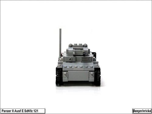 Panzer II Ausf E de Panzerbricks