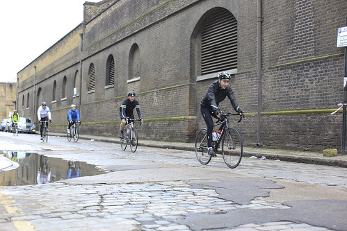 Cobbles in Wapping