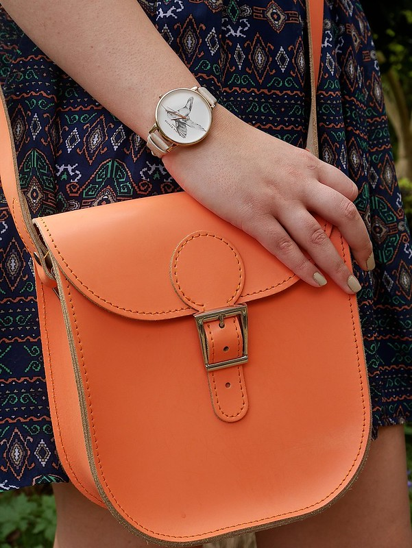 Britstitch satchel olivia burton watch