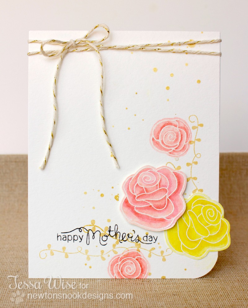 Newton's Nook Designs Mother's Day Card 1- Tessa Wise