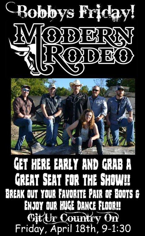 Modern Rodeo 4-18-14