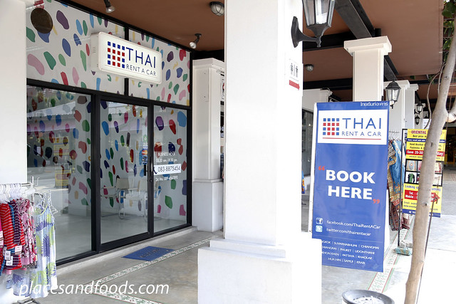 thai rent a car villa market hua hin