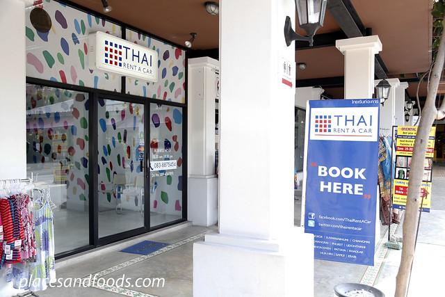 thai rent a car villa market hua hin