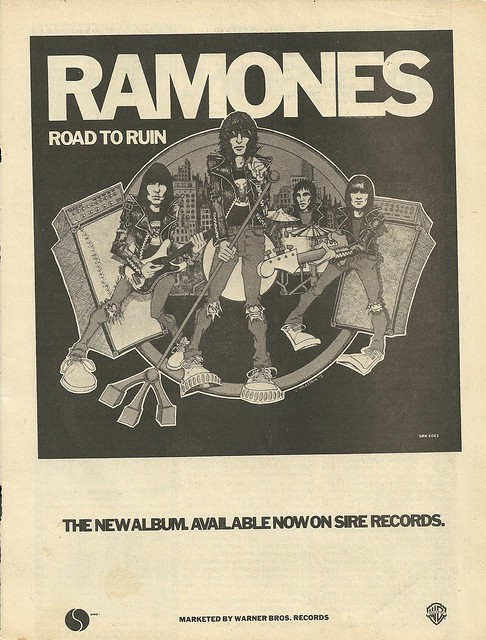 "Ramones ""Road To Ruin"" (Released: 09/21/78)"