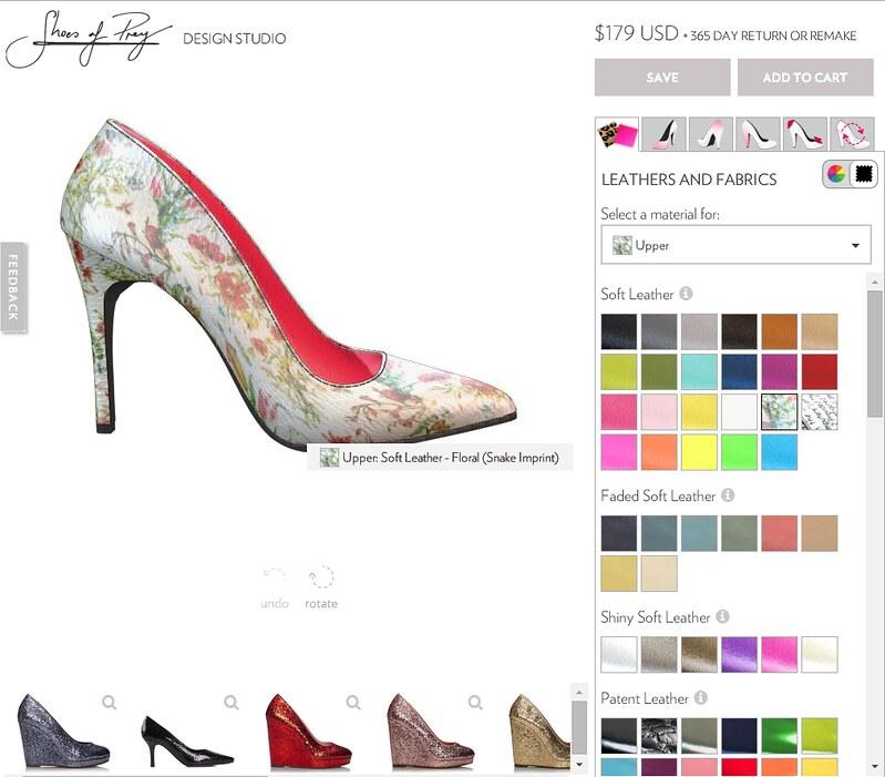 cute & little blog | petite fashion | shoes of prey designer review