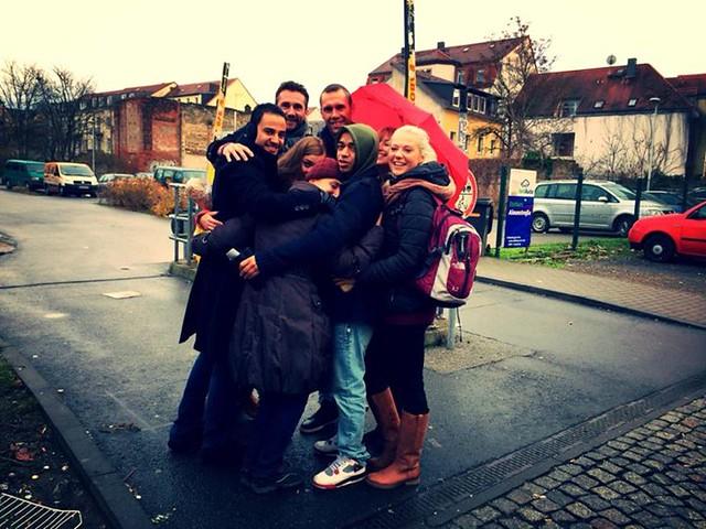 Dresden hug