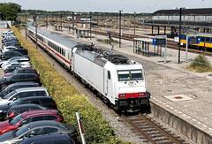 NS 186 149 met IC 145 naar Berlijn, Amersfoort, 25-06-2015