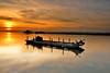 燒 Sunset boat