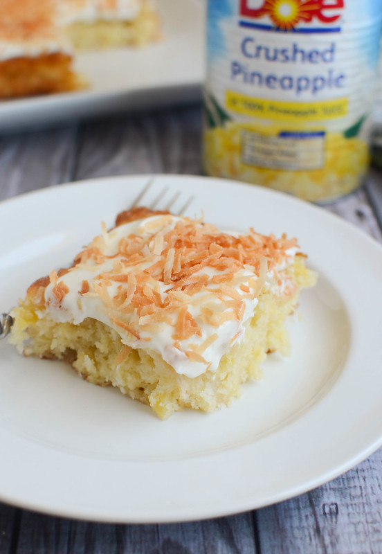 Pineapple Snack Cake