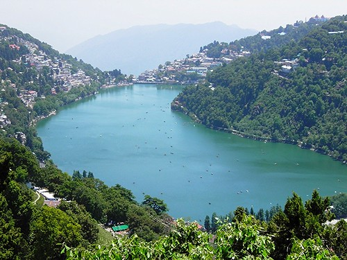 Naini Lake (Top View)