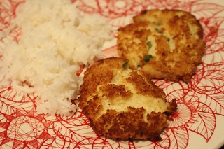 My first crab cakes
