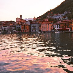 Lago d'Iseo, Brescia, #Italy from the water taxi just around pizza time #polarr