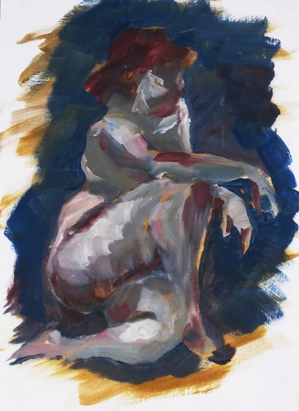 15 mins, oil paint, 12/07/2015