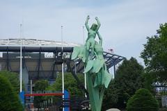 World's Fair Statue