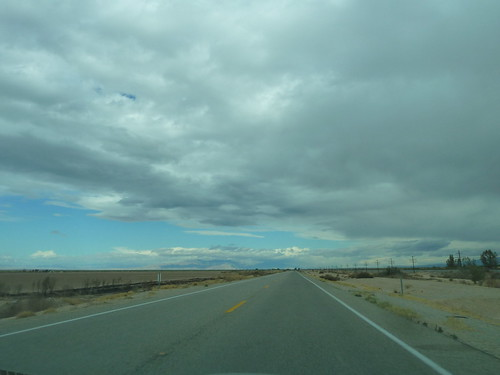 Heading north out of Calipatria, California_