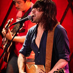 Wed, 22/02/2017 - 5:43pm - Old 97's - Rhett Miller, Murry Hammond, Ken Bethea, and Philip Peeples - perform for a lucky crowd of WFUV Members at Rockwood Music Hall in New York City, Feb. 22, 2017. Hosted by Carmel Holt. Photo by Gus Philippas
