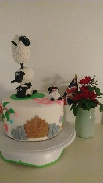 Cake by Teresa Toomer of Jolly Good Cakes