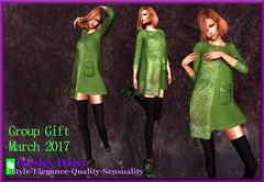 Paisley Daisy - Vintage Jackie O Style Dress Coat Green