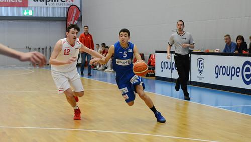 Grande Finale Fribourg Académie U16m -  Swiss Central Basket 1
