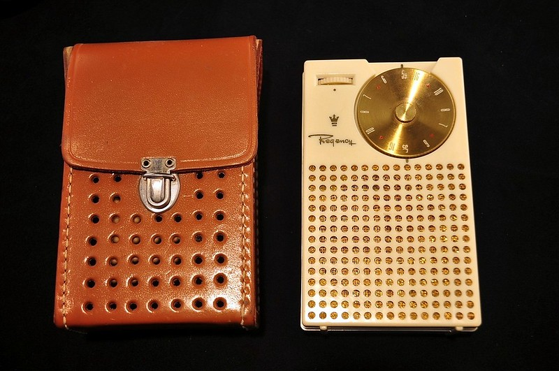 Vintage Regency TR-1 Transistor Radio, Made in the USA