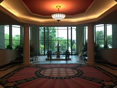Building lobby, Highwoods One, Innsbrook, Glen Allen, VA