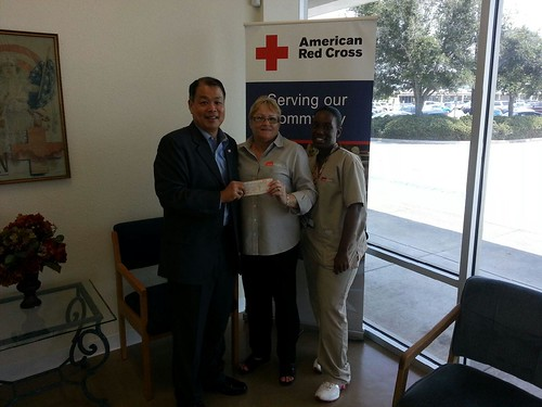 Texas City Family red cross