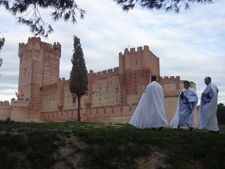 Castillo de la Mota, en Medina del Campo.