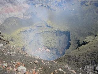 Cráter volcán Villarrica