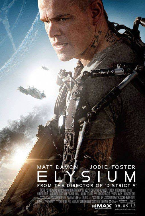 Elysium (2013) - Poster 2 with Matt Damon