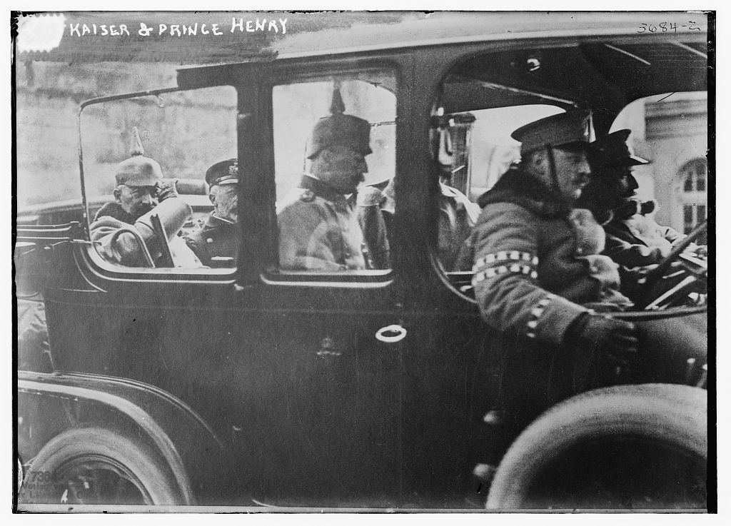 Kaiser & Prince Henry  (LOC)