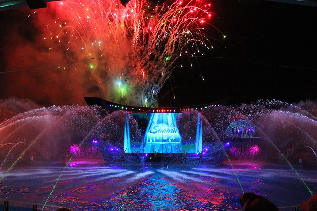 SeaWorld Orlando Summer Nights 2013
