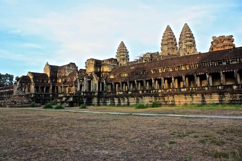 around Angkor Wat
