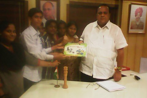 2013-6-12  Programmes for Anti-Child Labour Day by NDWM, Maharastra Region, India