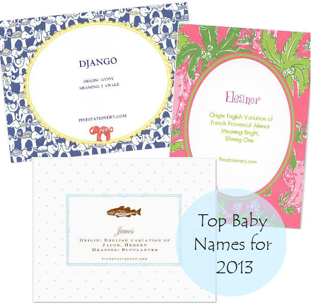 top-baby-names-2013