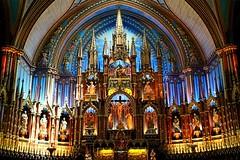 Notre-Dame Basilica of Montréal - Basilique Notre-Dame de Montréal