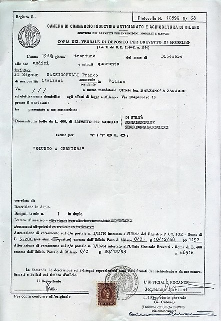 1968 Brevetti