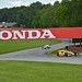 Ryan Hunter-Reay exits Turn 7 at the Mid-Ohio Sports Car Course
