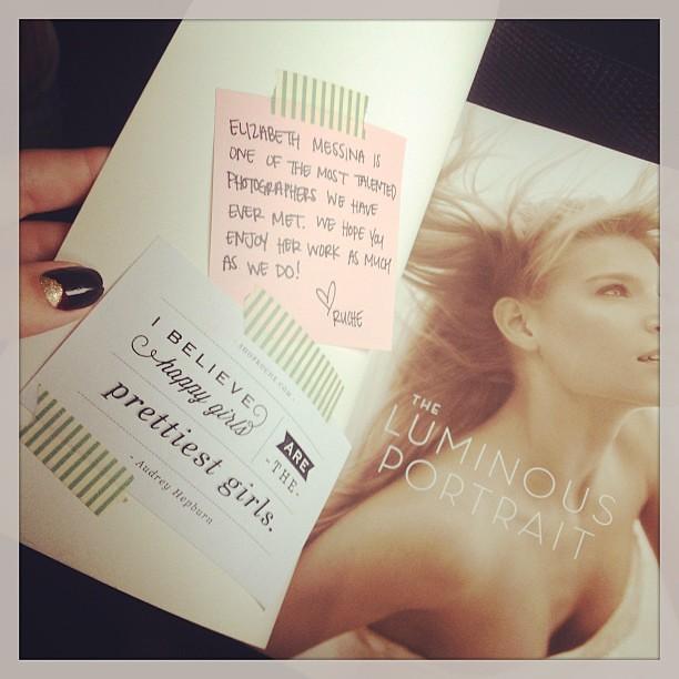 Airplane reading c/o #shopruche - I'm loving it; thank you! #txsc13