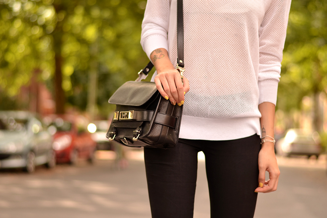 Black White Outfit J Brand Sojeans Sporty Look 6