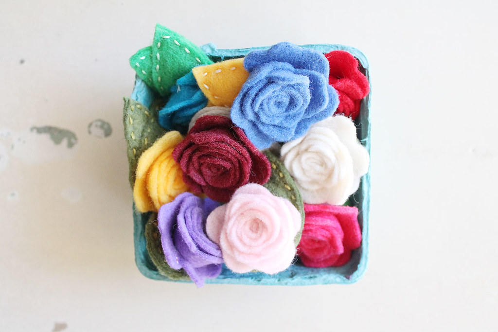 basket of rosie hair clips 1