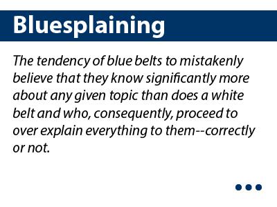 Bluesplaining