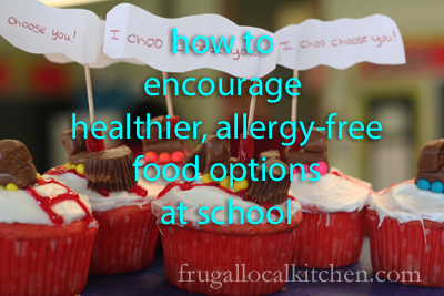 How to encourage healthier allergy-free options at school