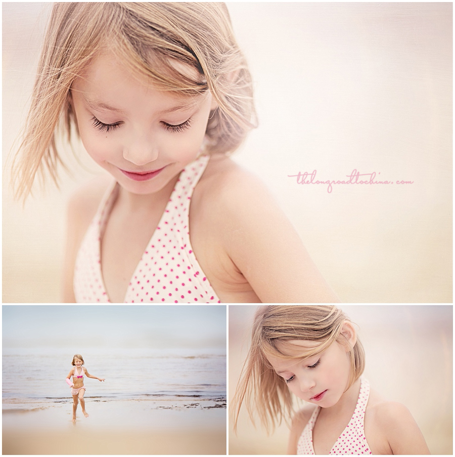 Beach Polka Dot Collage 1